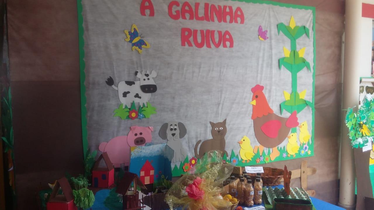 CEIM Carmelina Rios realiza Mostra Infantil Sobre Alimentação Saudável