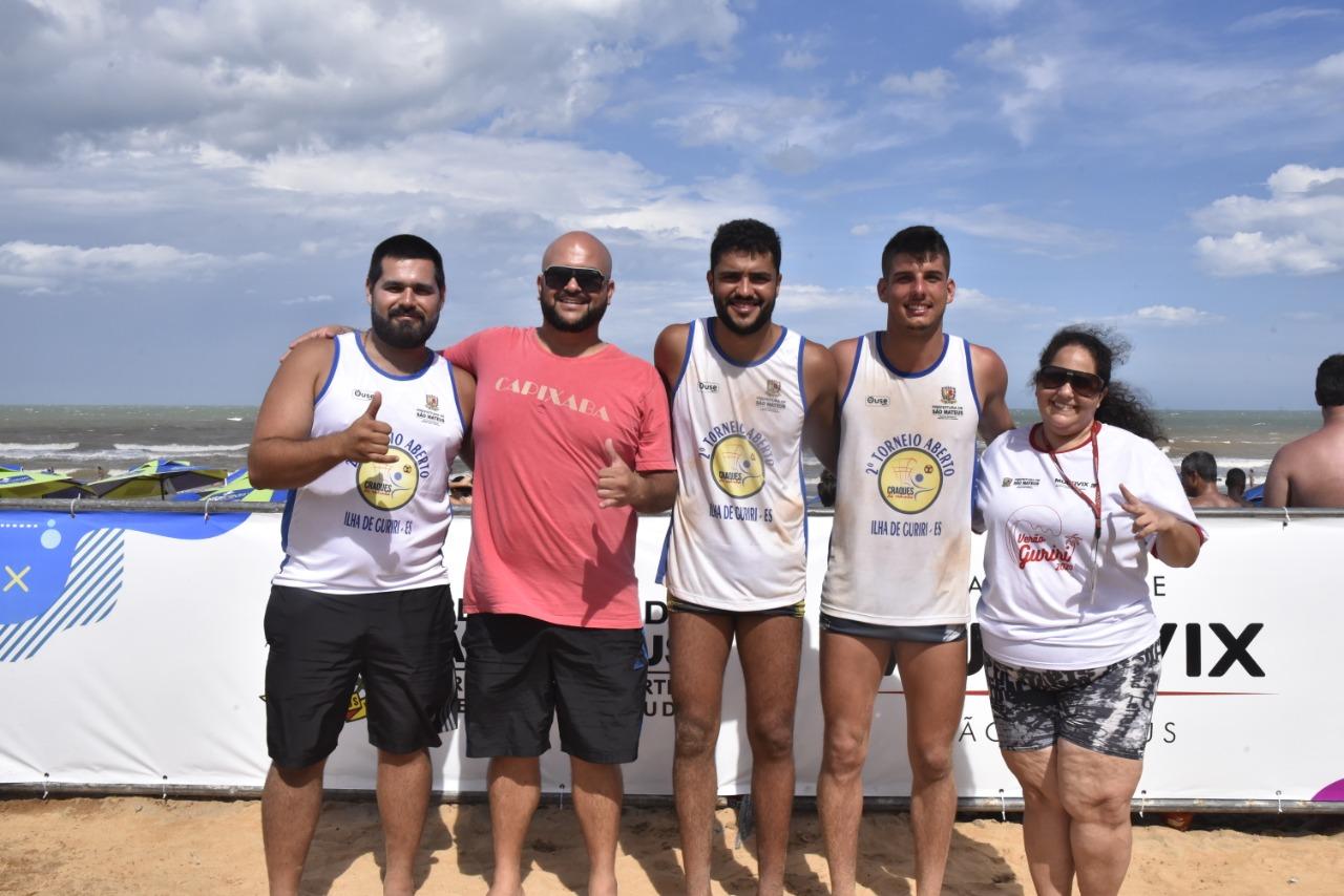JOGOS DE VERÃO GURIRI SÃO ABERTOS COM TORNEIOS DE REDINHA E FRESCOBOL