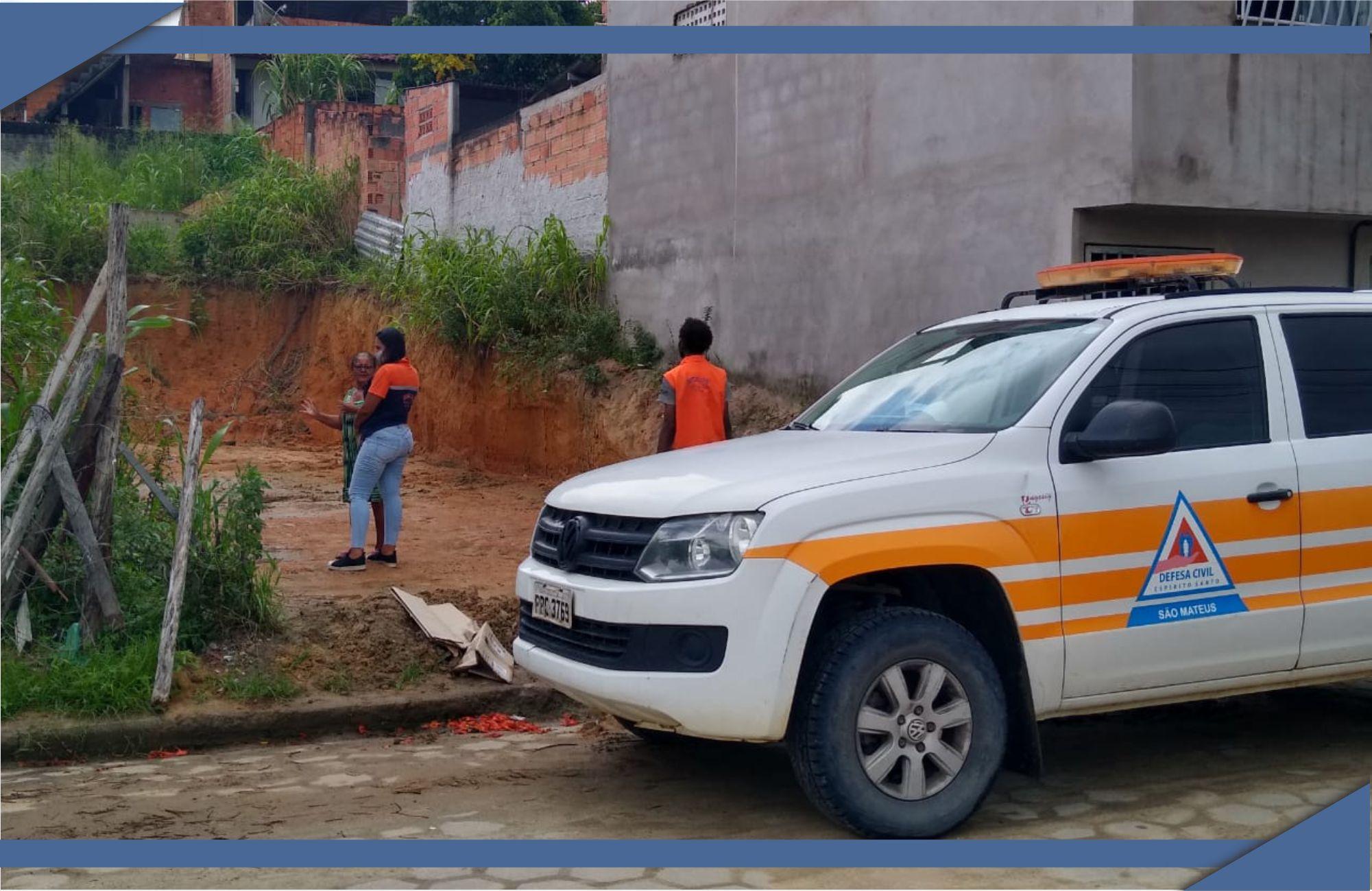 CHUVAS EM SÃO MATEUS: PREFEITURA CONTINUA MONITORANDO ÁREAS DE RISCO