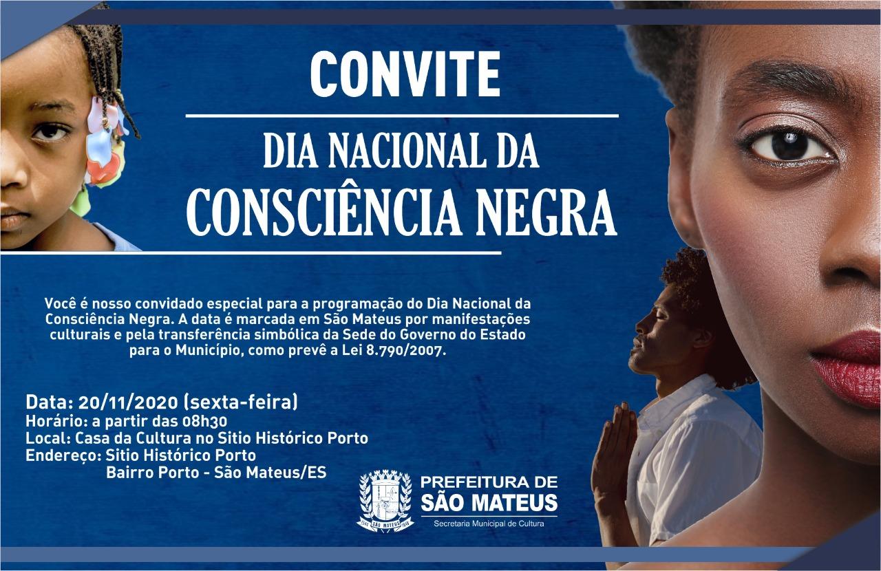 SÃO MATEUS CELEBRA DIA DA CONSCIÊNCIA NEGRA NO SÍTIO HISTÓRICO PORTO