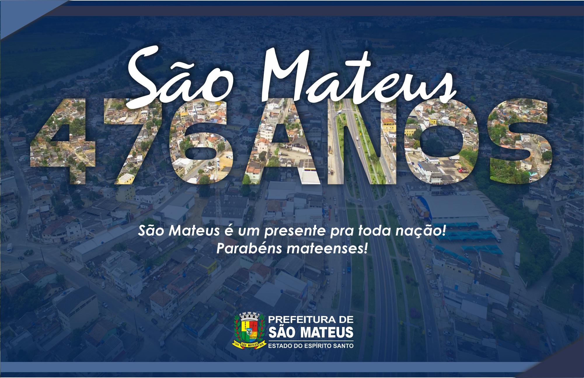 SÃO MATEUS 476 ANOS