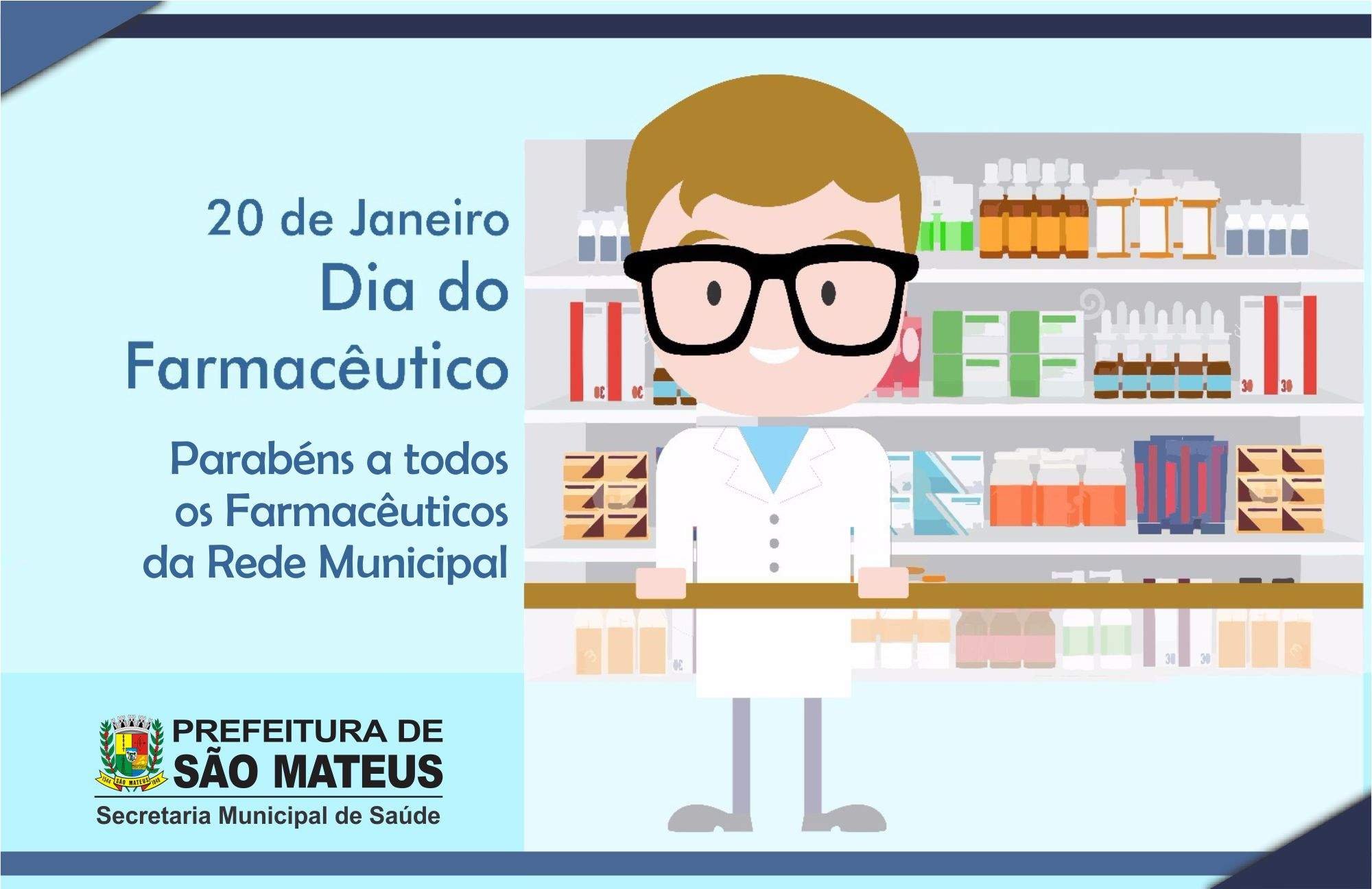 20 de Janeiro - Dia do Farmacêutico