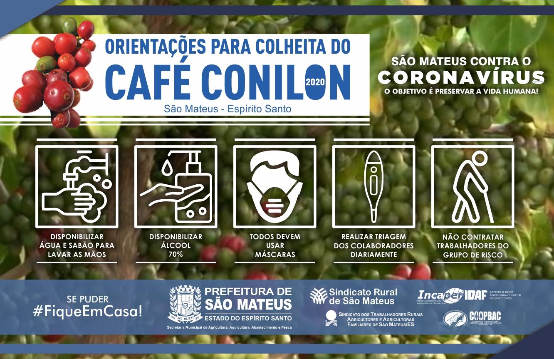PREFEITURA DE SÃO MATEUS ORIENTA: PRODUTORES DEVEM REDOBRAR CUIDADOS PARA A COLHEITA DO CAFÉ