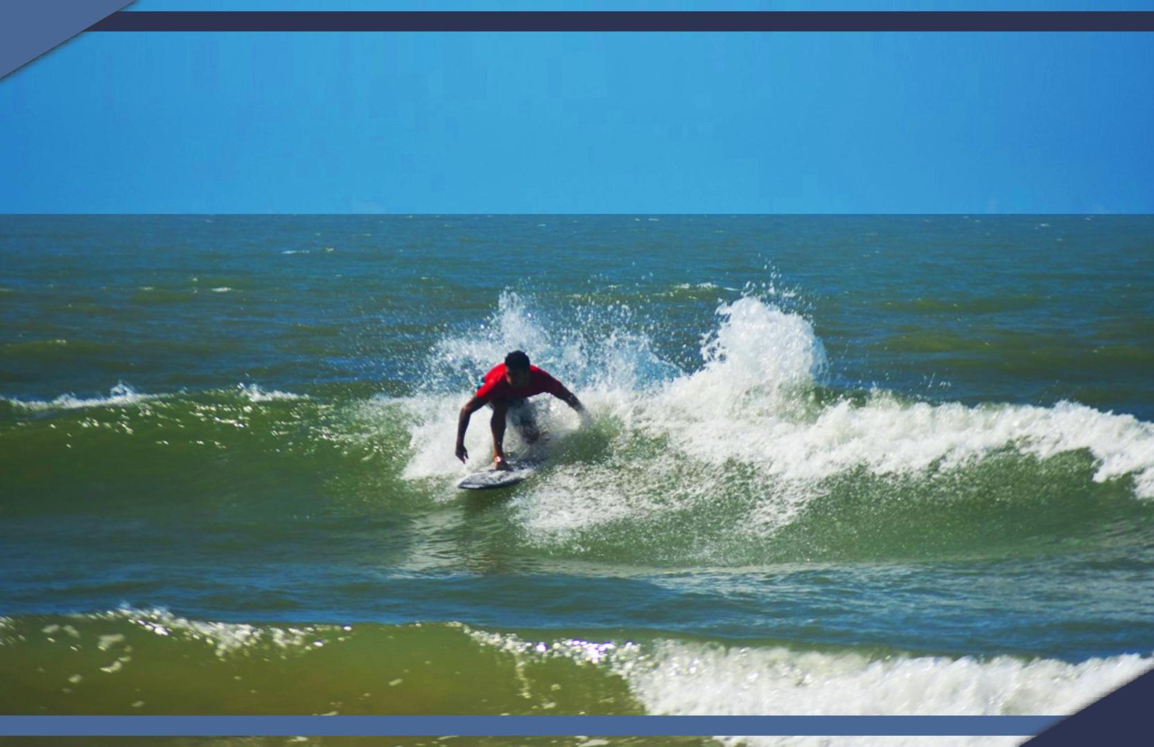 CAMPEÃO BRASILEIRO FATURA NORTÃO DE SURF EM GURIRI