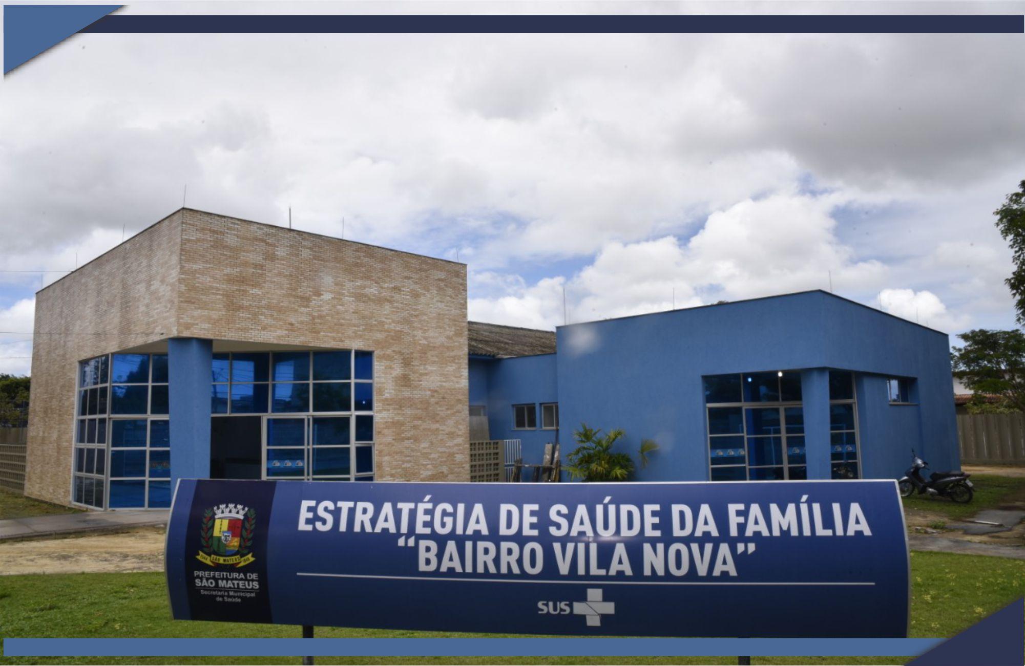 PREFEITURA DE SÃO MATEUS REVITALIZA ÁREA DE SAÚDE