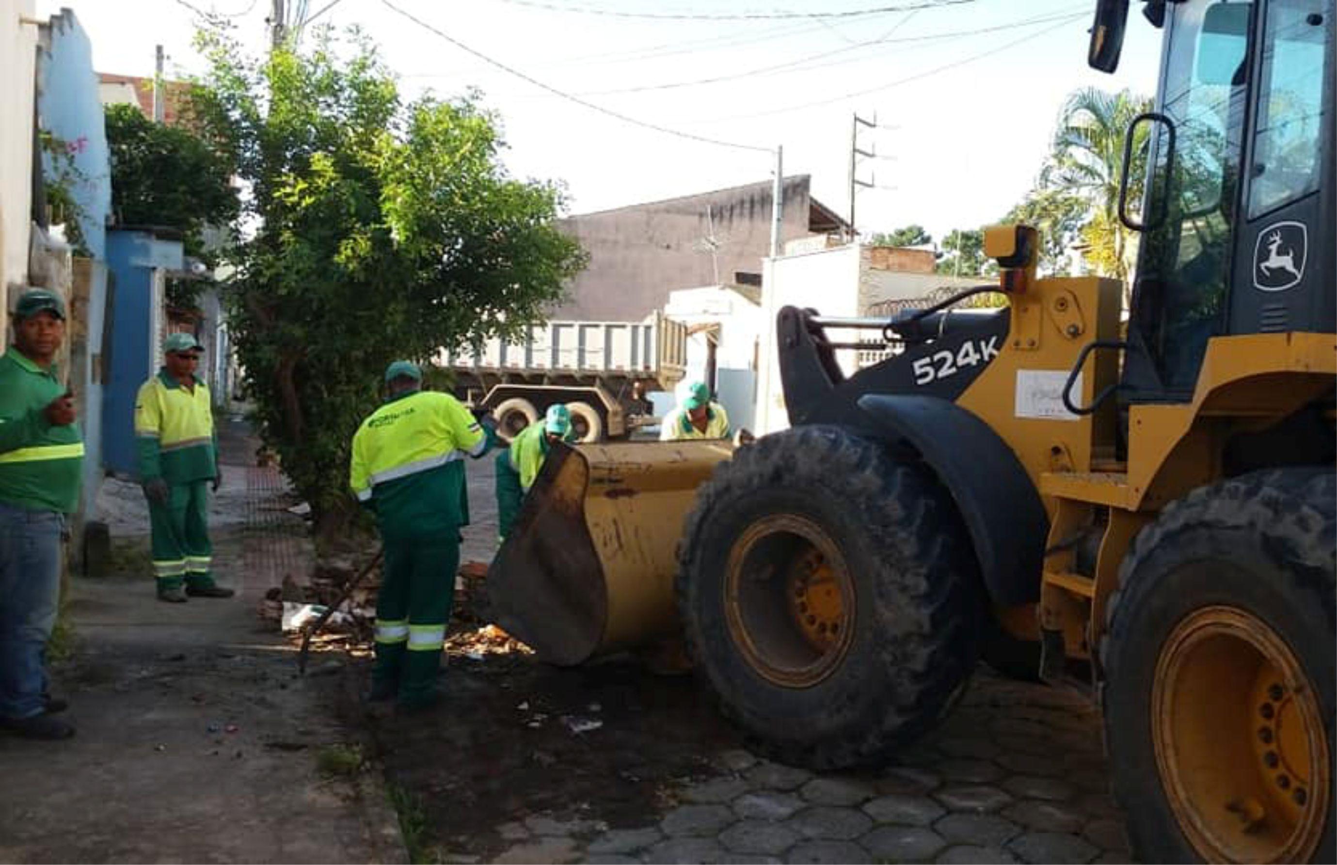 PMSM Realiza Ações De Limpeza E Manutenção No Município