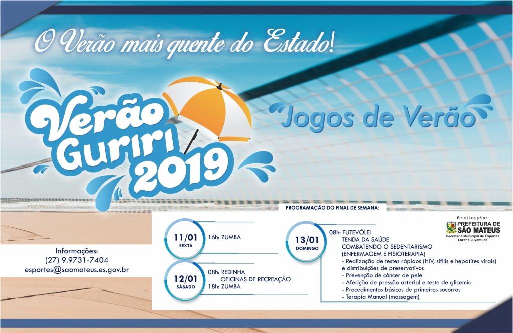 PMSM inicia os Jogos de Verão no final de semana