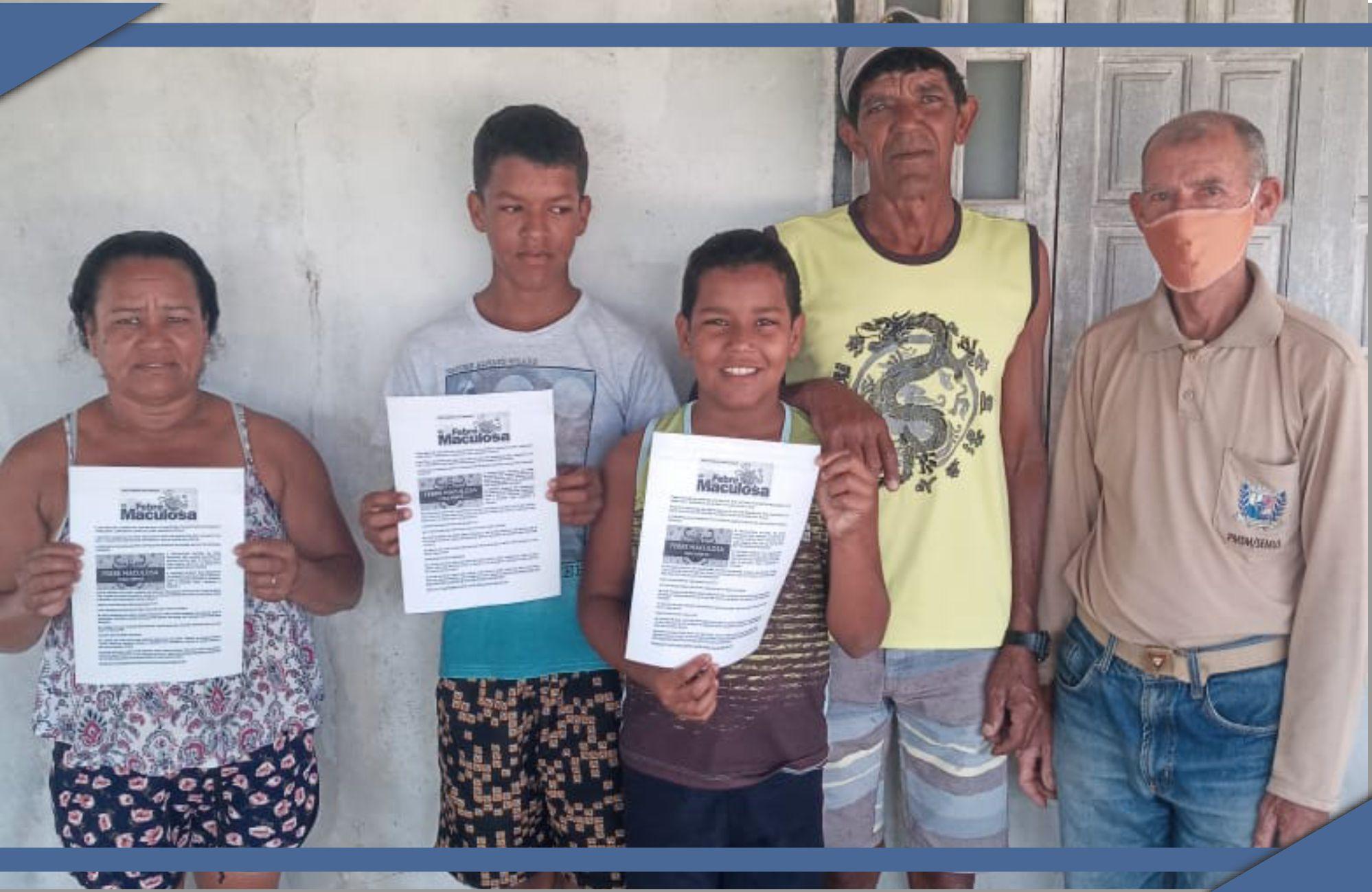 PREFEITURA REALIZA EDUCAÇÃO EM SAÚDE NO ASSENTAMENTO DO VALE DA VITÓRIA SOBRE A FEBRE MACULOSA