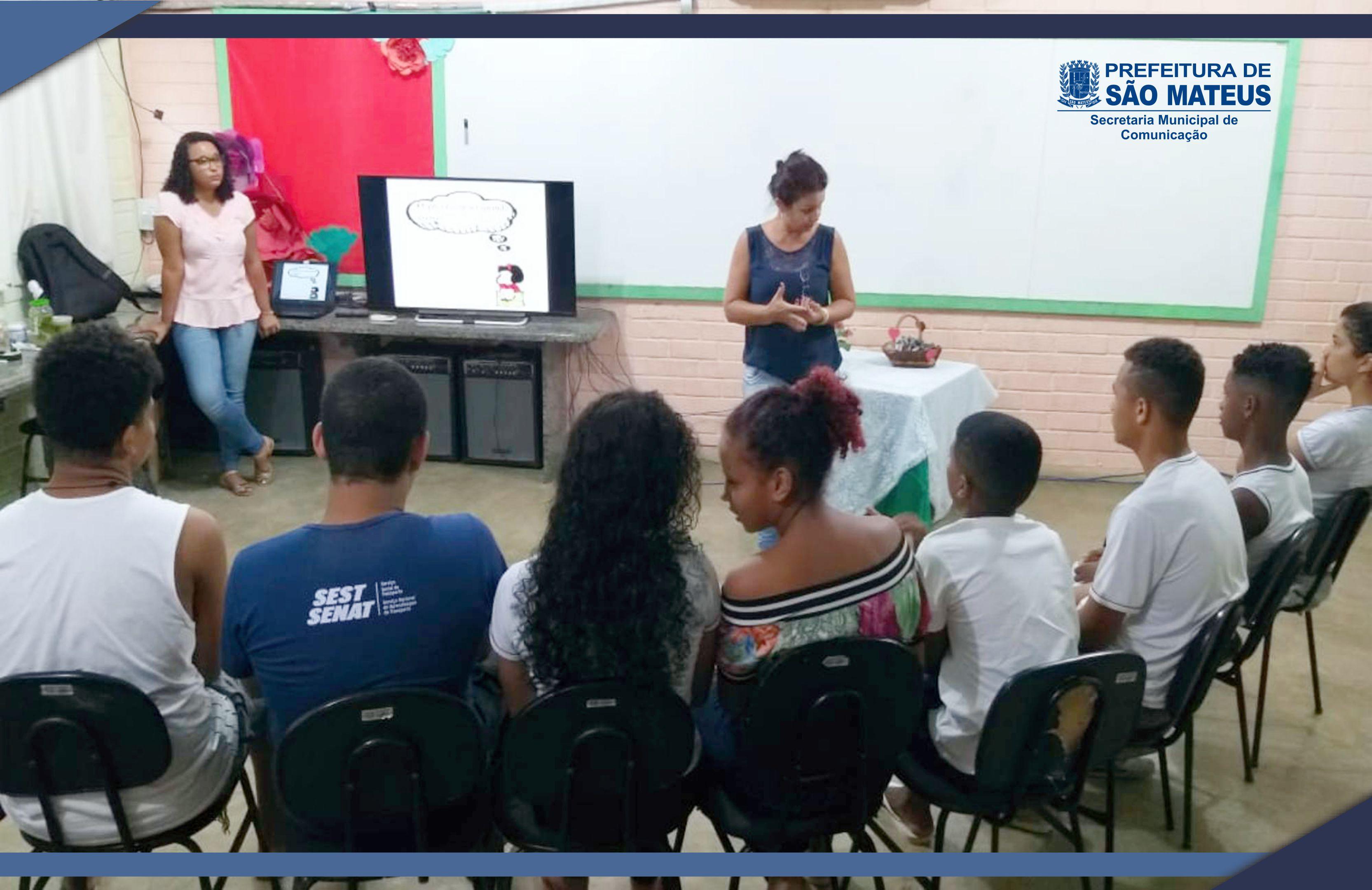 ESTUDANTES DA EMEF SANTA TEREZINHA PARTICIPAM DE PROGRAMAÇÃO SOBRE CIÊNCIAS