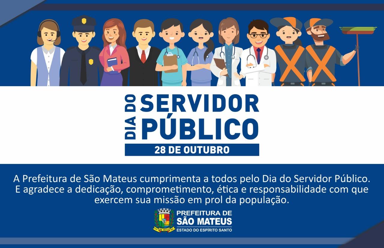 DIA 28 DE OUTUBRO - DIA DO SERVIDOR PÚBLICO