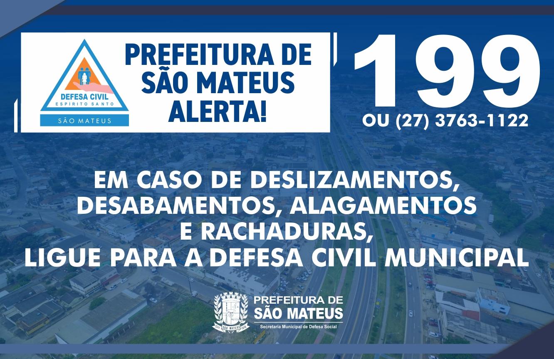 PREFEITURA DE SÃO MATEUS ALERTA!