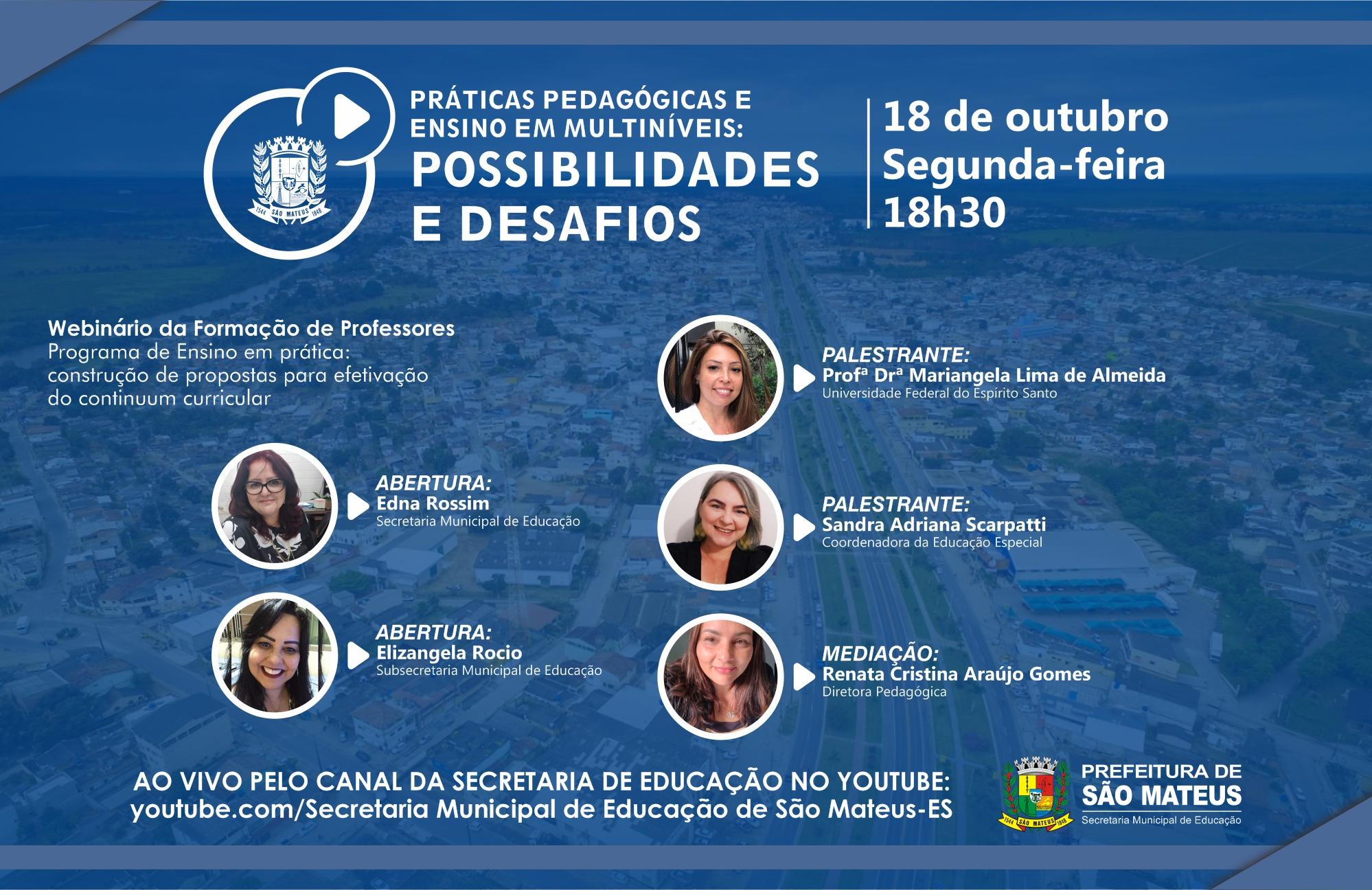 EDUCAÇÃO ESPECIAL INCLUSIVA É TEMA DE WEBINÁRIO NA PRÓXIMA SEGUNDA-FEIRA (18)