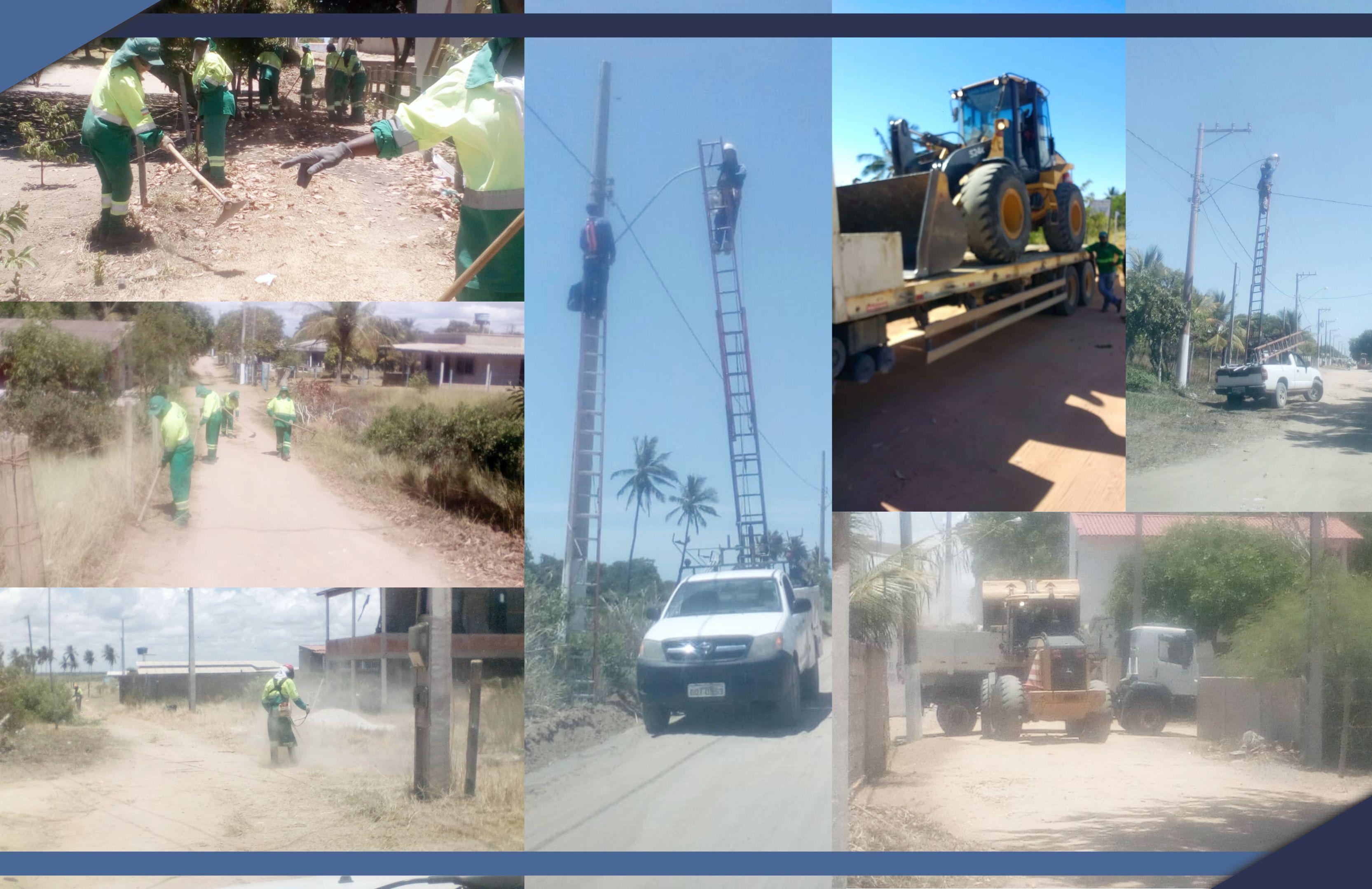 Prefeitura realiza força-tarefa em Barra Seca