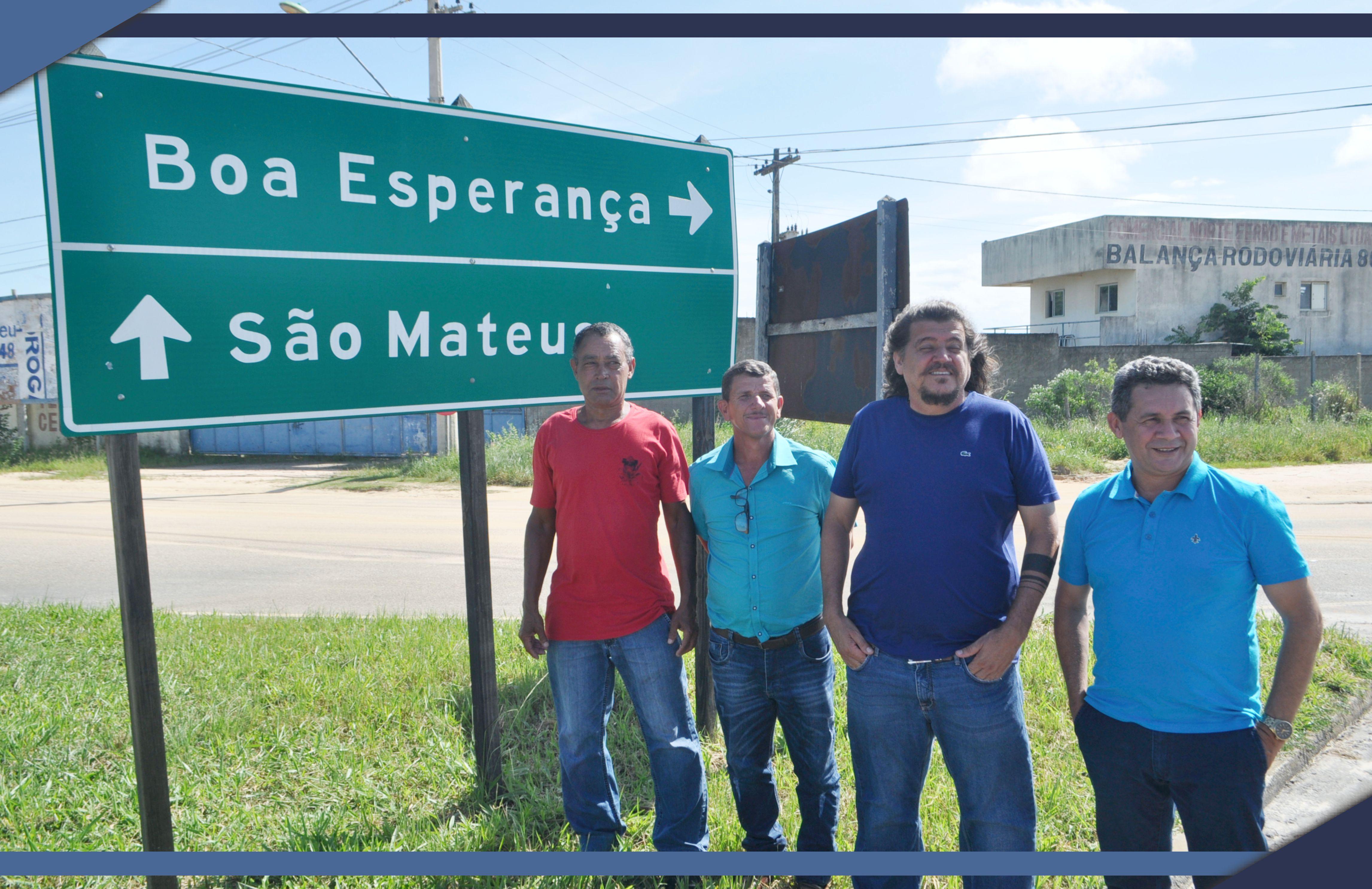 Governador Paulo Hartung obtém liberação de recursos para realizar as obras na rodovia que liga São Mateus a Boa Esperança
