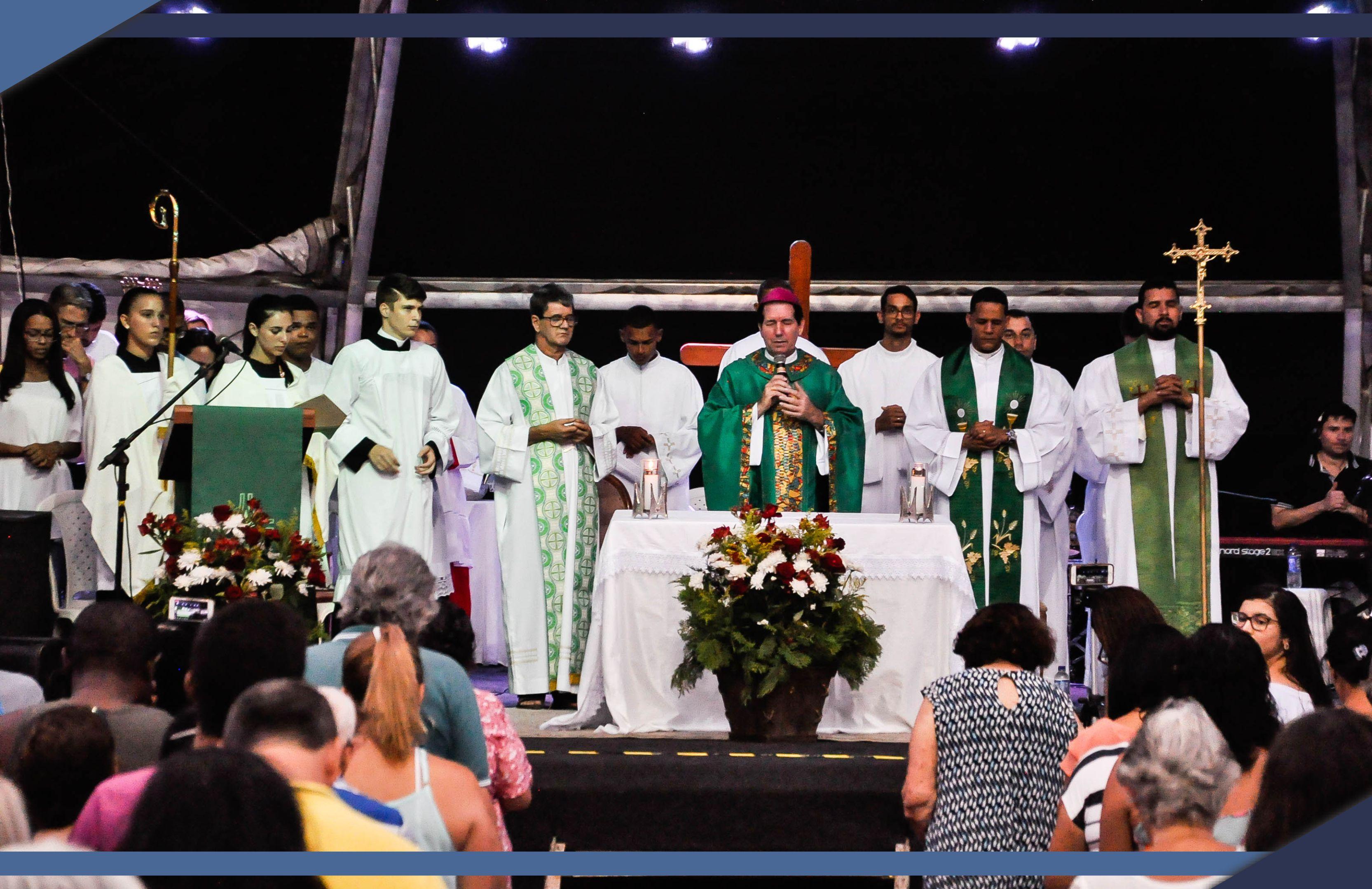 """Missa de Envio abre programação """"Jesus no Litoral"""" em Guriri"""