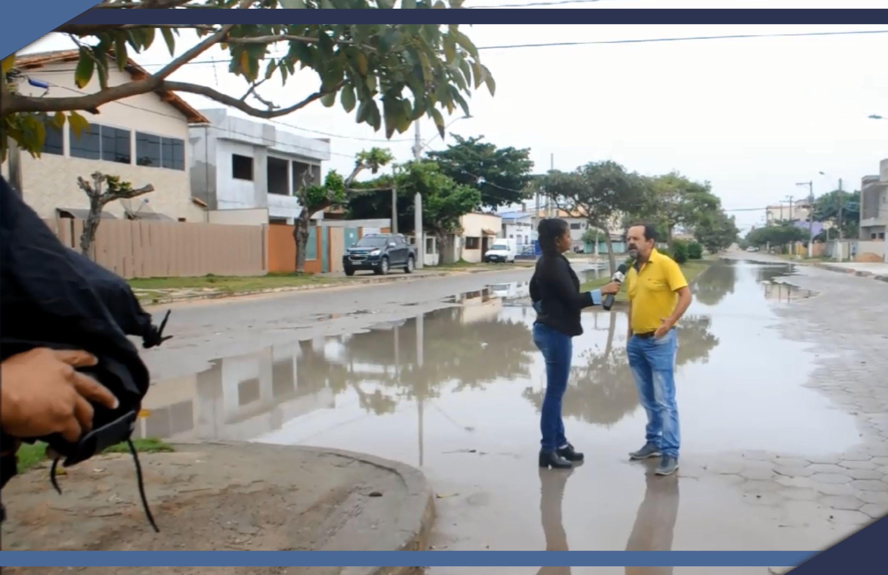 Secretário de Obras e Infraestrutura esclarece população sobre alagamentos em Guriri