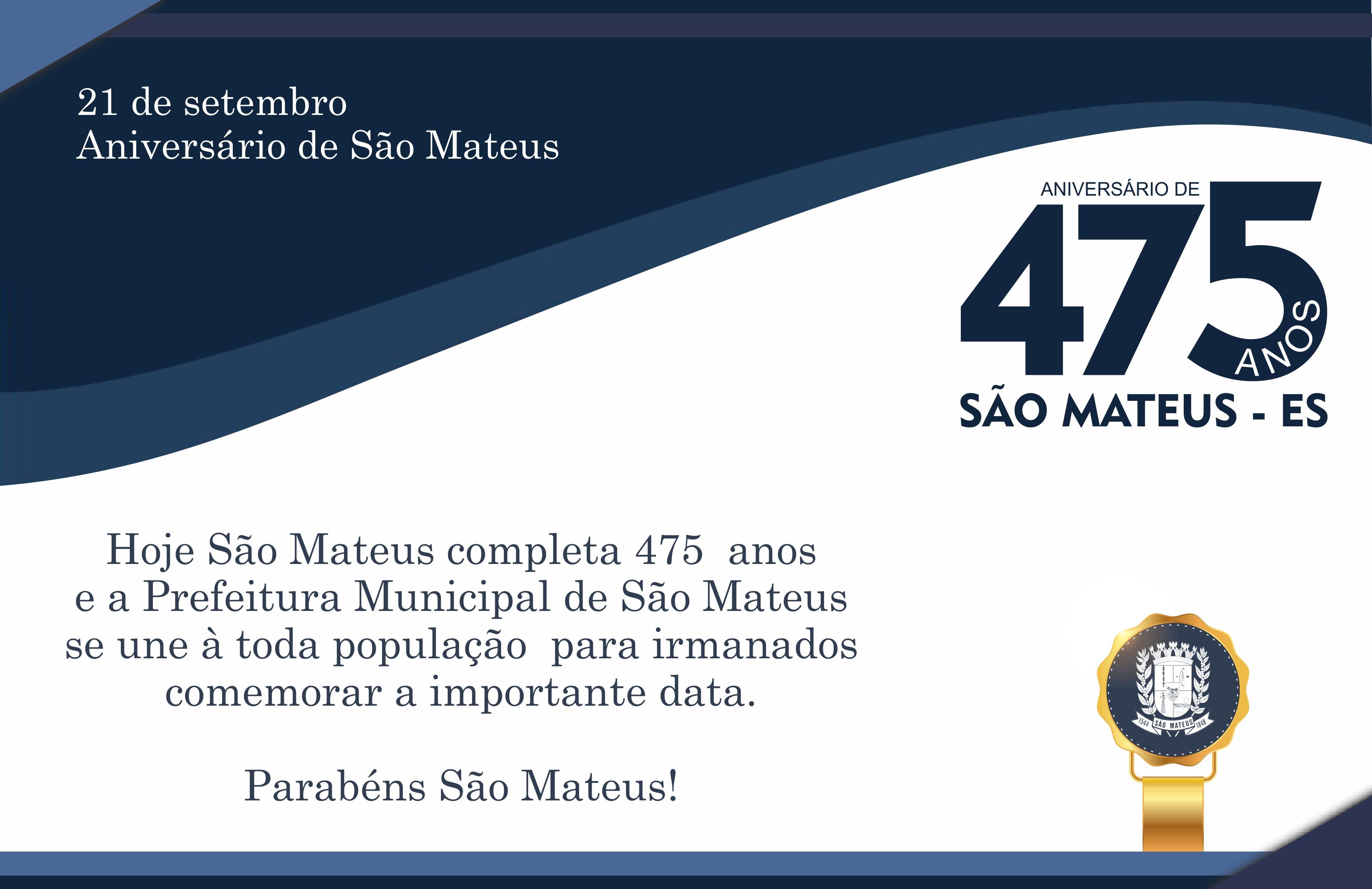21 DE SETEMBRO - ANIVERSÁRIO DE SÃO MATEUS